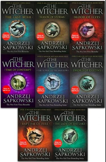 The Witcher Books,The Witcher books author
