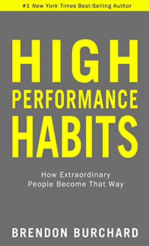 High Performance Habits pdf free download by Brendon Burchard
